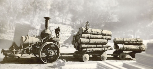 Old Traction Logging